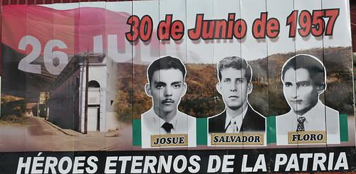 30 de junio de 1957: Josué, Salvador y Floro, tres sueños truncados