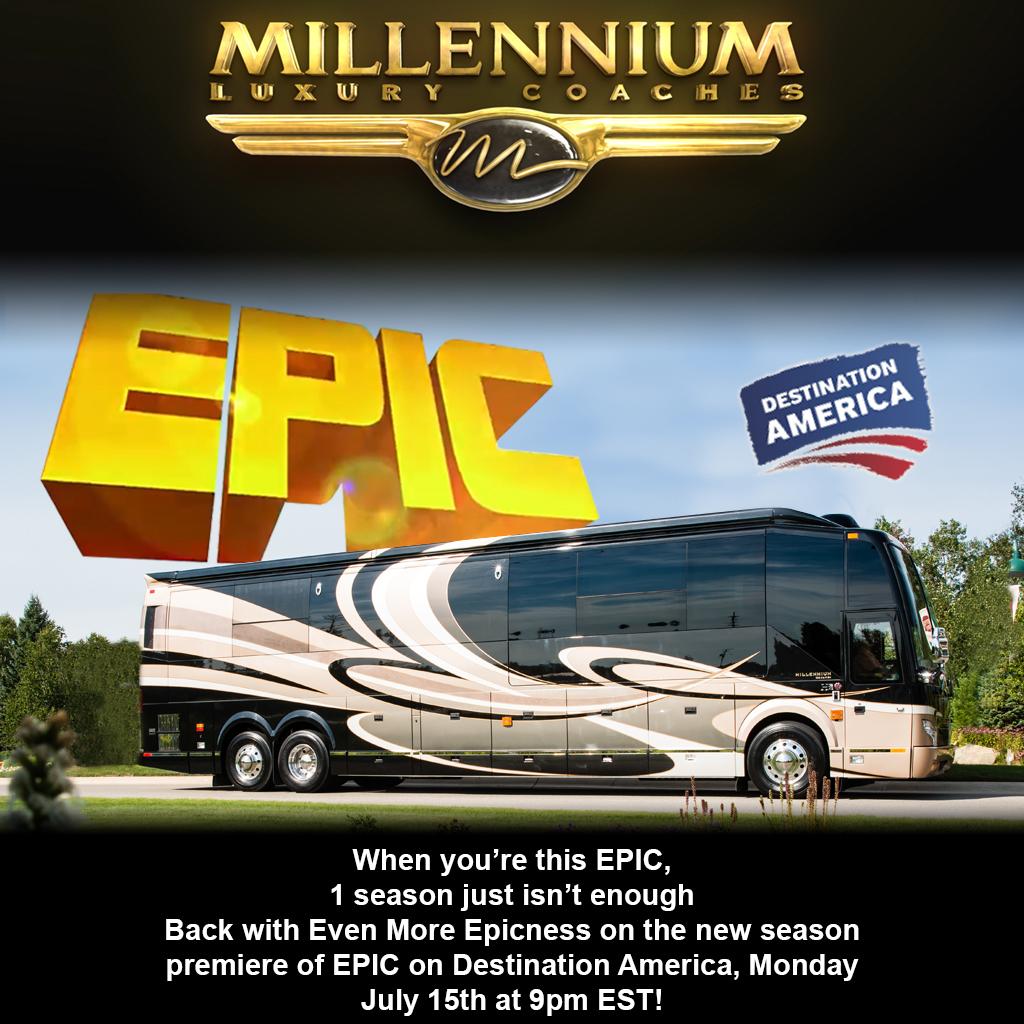 Millennium Luxury Coaches Epic On Destination America Flickr