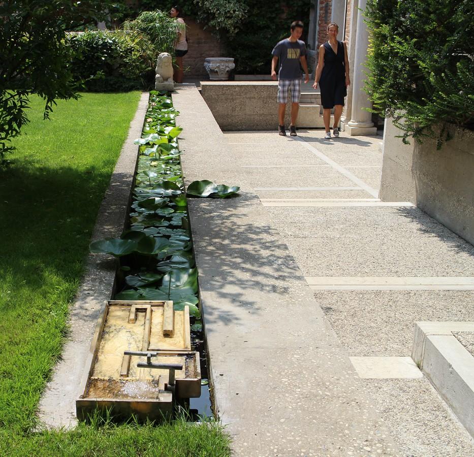 carlo scarpa giardino della fondazione querini stampalia