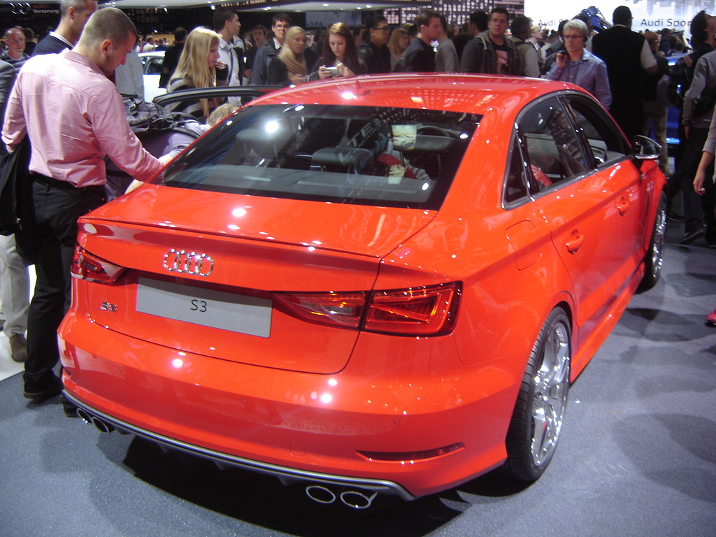 iaa 2013 audi s3 saloon german car manufacturers try to f flickr. Black Bedroom Furniture Sets. Home Design Ideas
