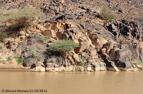 Rocks Water Rocks Shaped by Sun,water