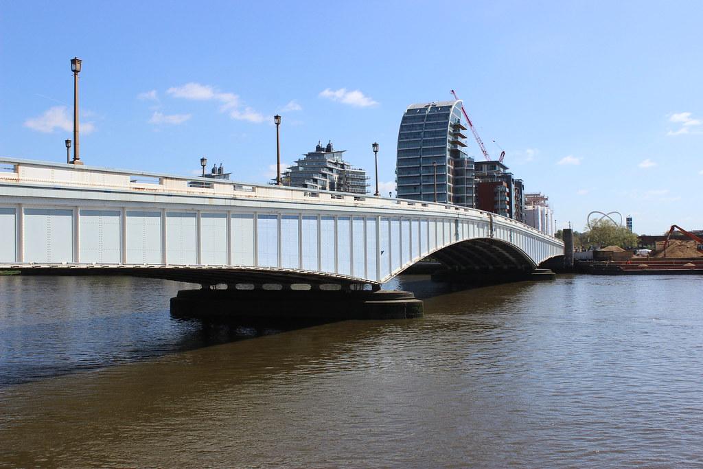 Wandsworth Bridge, built in 1939 and London's most boring