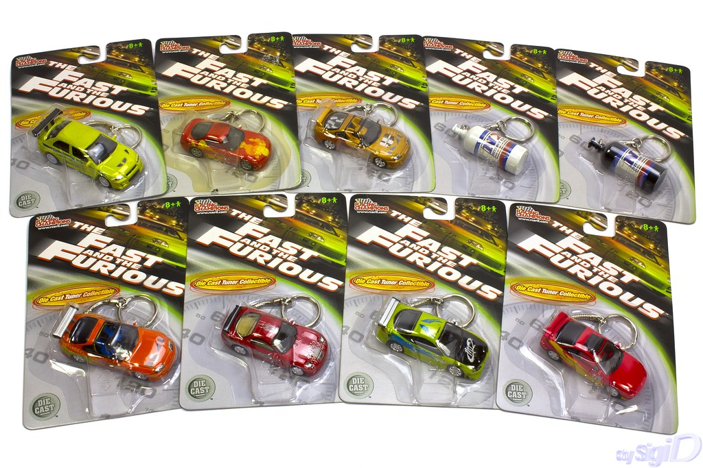 1-64_Racing_Champions_Fast_Furious_diecast_keychains | Flickr
