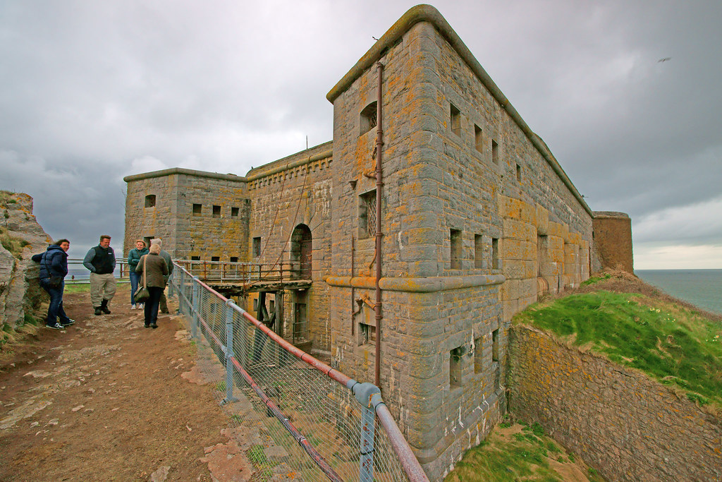 Its All About Will Of People Until It >> A close up of the fort on St Catherine's Island Tenby, Pem…   Flickr
