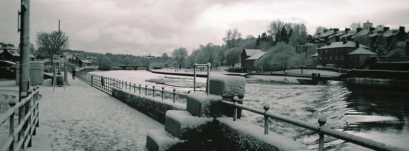 Snow on Whitesands