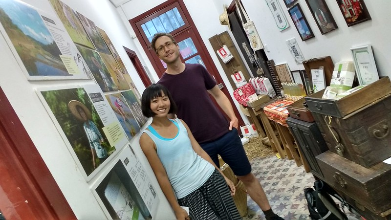 Linda and Lucas at the Rice Harmony HQ in Guangzhou