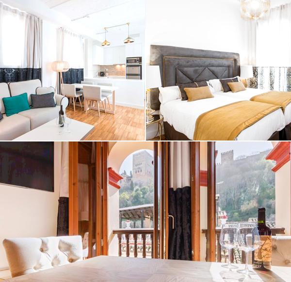 Oro del darro Suites un homenaje brutal par dormir en Granada
