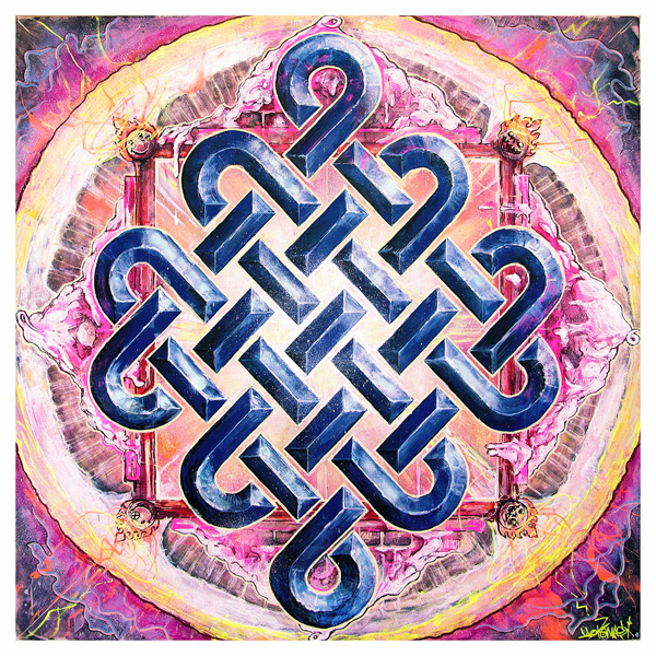 Painting Endless Knot