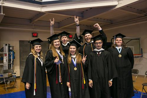 Cabrini Commencement, graduating students