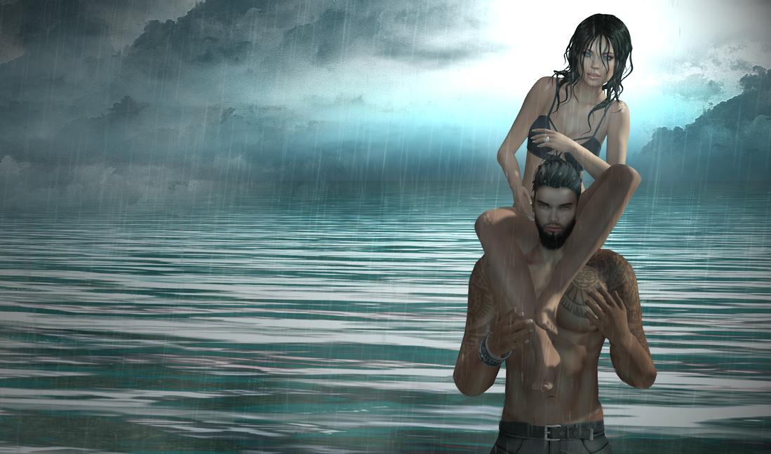 The rhythm of the falling rain