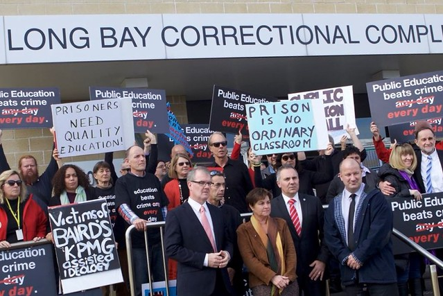 Corrective Services Protests