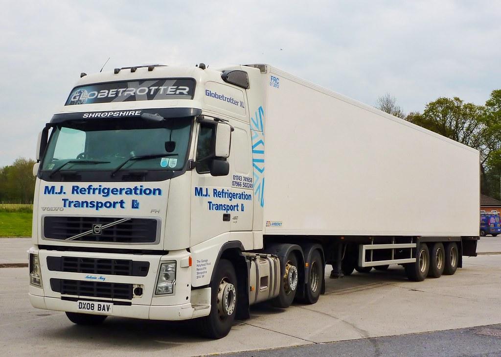 DX08 BAV - Volvo FH 490 - M.J. Refrigeration Transport Ltd… | Flickr
