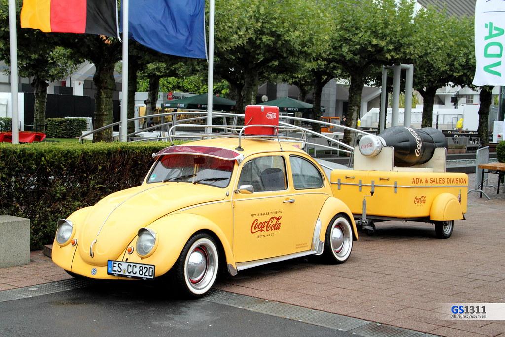 volkswagen k fer coca cola with trailer visit my facebook flickr. Black Bedroom Furniture Sets. Home Design Ideas
