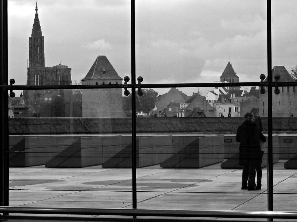 Terrasse mus e d 39 art moderne de strasbourg quentin verwaerde flickr - Musee d art moderne strasbourg ...