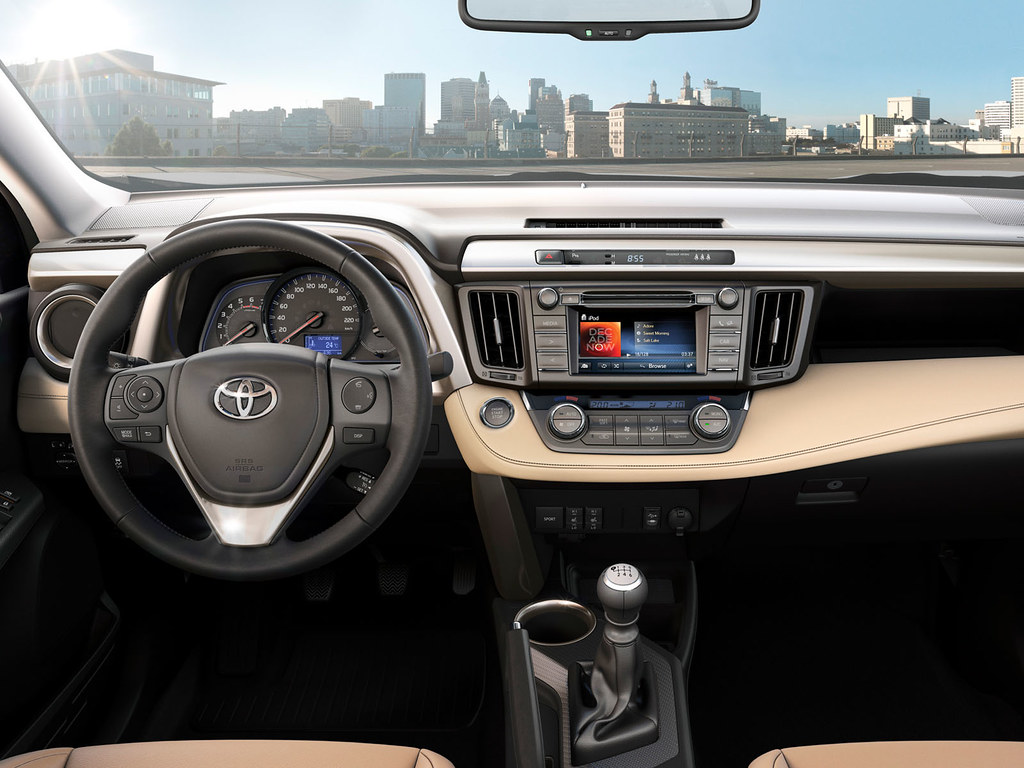 Toyota Rav4 2014 Interior Toyota Motor Europe Flickr