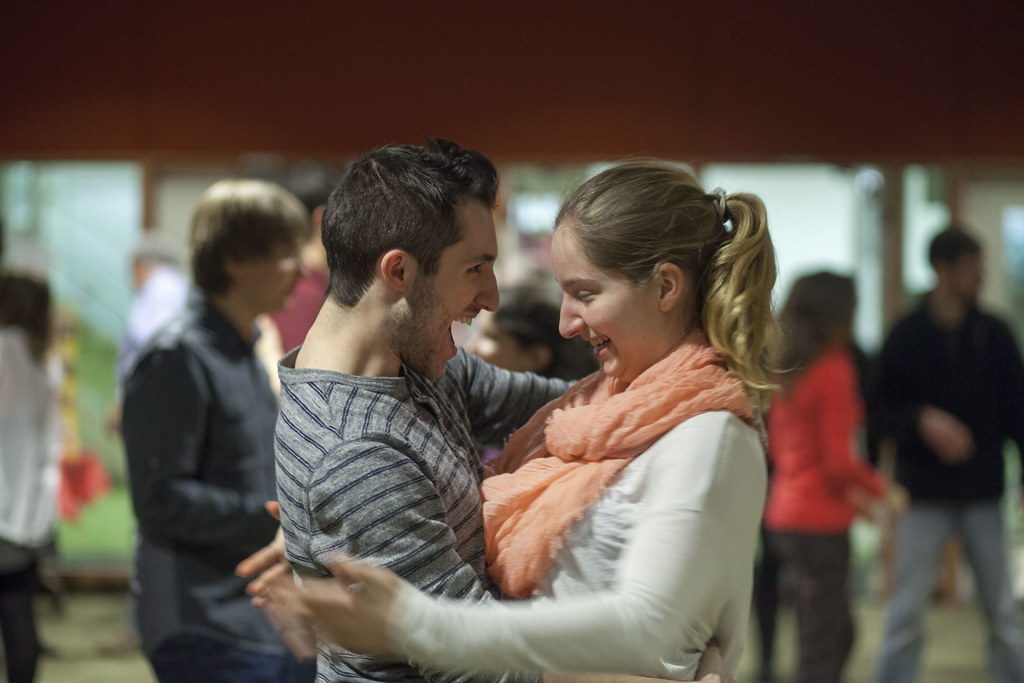 Salsa/Merengue/Bachata Dance at College of DuPage Feb. 2015 21
