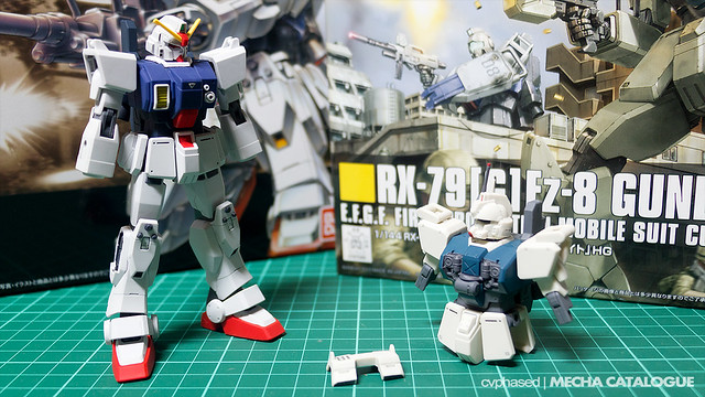 HGUC Gundam Ez8 - Work in Progress #1