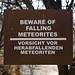 Falling Meteorites