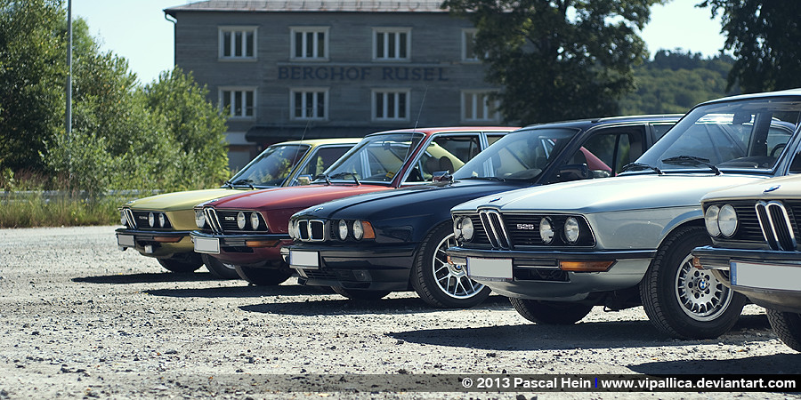 bmw e12 und e34 40 jahre bmw 5er aus dingolfing several flickr. Black Bedroom Furniture Sets. Home Design Ideas