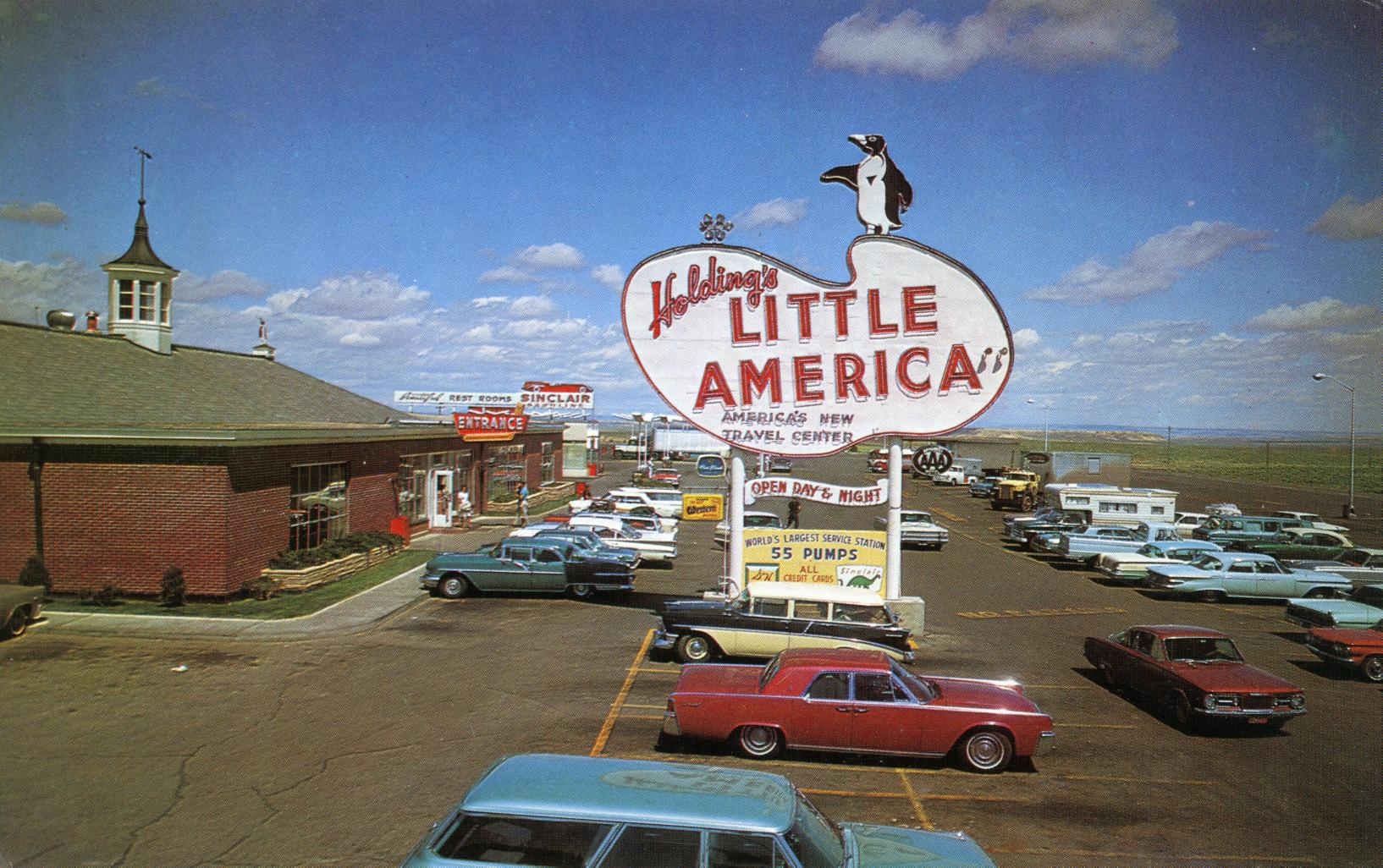 Holding's Little America - Cheyenne, Wyoming U.S.A. - 1960s