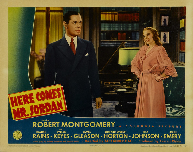 Here Comes Mr. Jordan (1941, USA) - 02