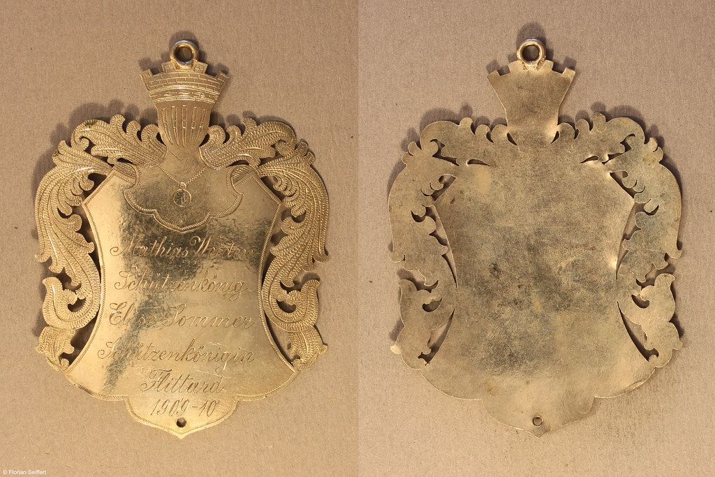 Koenigsschild Flittard von weiden mathias aus dem Jahr 1909