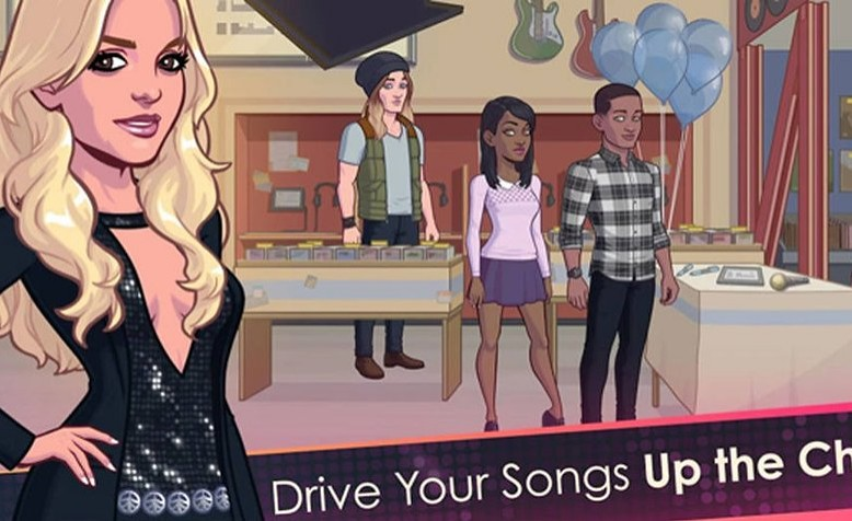 Britney Spears presenta juego para dispositivos móviles
