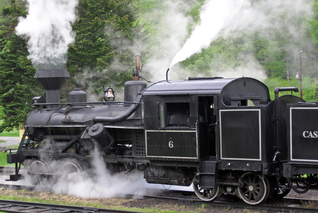 Cass Scenic Railroad # 6 steam locomotive (Heisler 3-truck… | Flickr