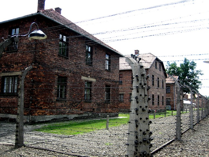 campo de concentración de Auschwitz desde Cracovia
