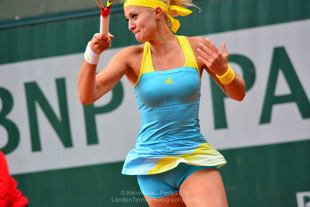 Kristina Mladenovic France French Open 2013 Kelvin