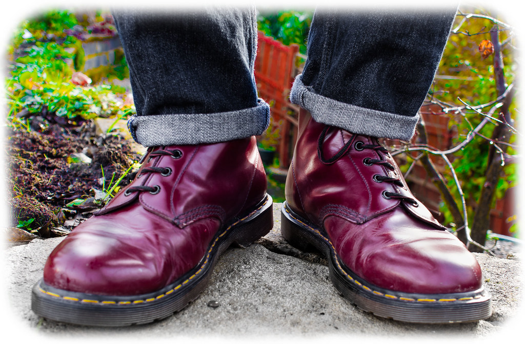 Martens 1460 Cherry Red 1460 Cherry Red 8 Hole