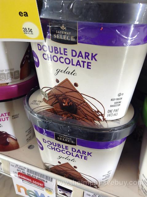 Safeway Select Double Dark Chocolate Gelato   Flickr - Photo Sharing!