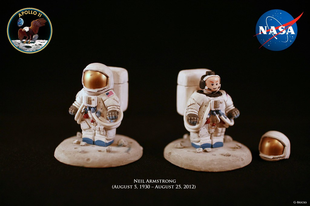 Neil Armstrong This Was A Fig That I Done As A Christmas