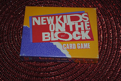on The Block Card Game