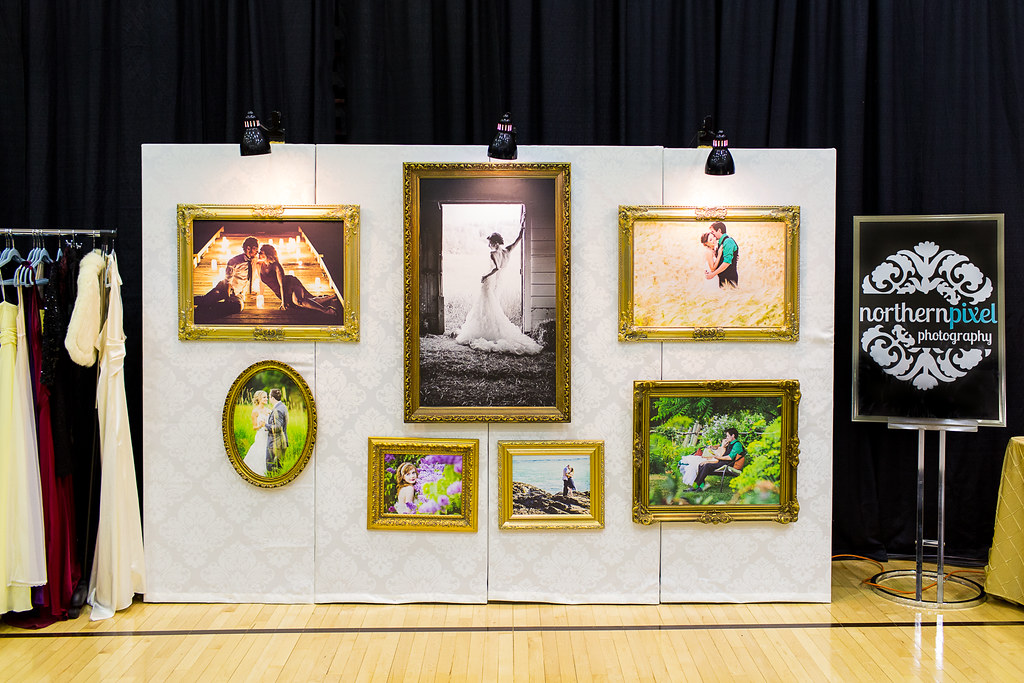 Northern Pixel Photography - Storybook Wedding Bridal Expo Booth