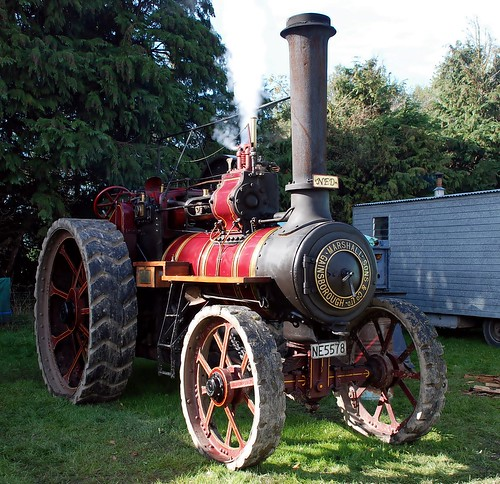 1912 MARSHALL TRACTION ENGINE | by lancef2