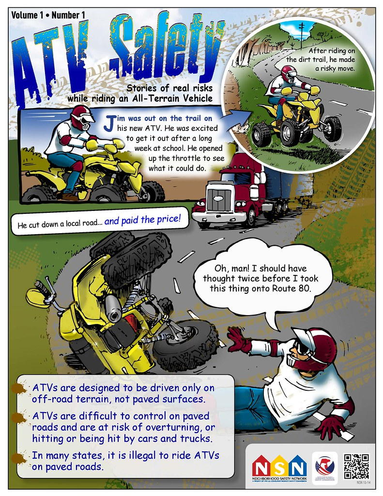 Atv Safety Off Road Only Stories Of Real Risks While