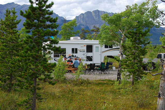 Camping in Kananaskis Country