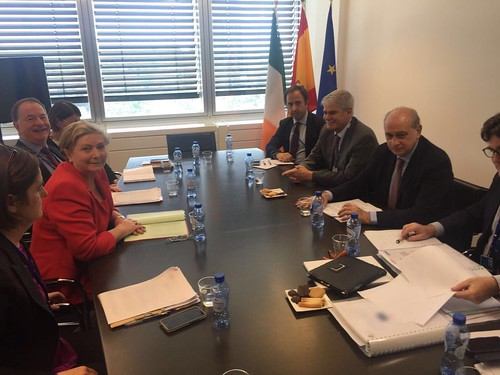 Tánaiste Fitzgerald discusses police cooperation with Spanish Minister for the Interior, Jorge Fernández Díaz