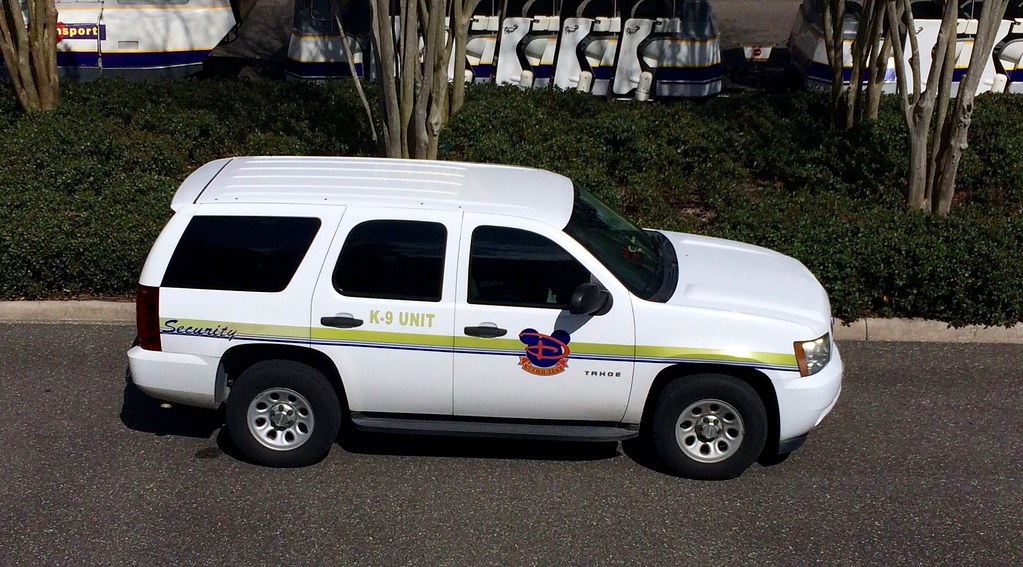 Disney Safety and Security Chevrolet Tahoe PPV K9 Unit ...