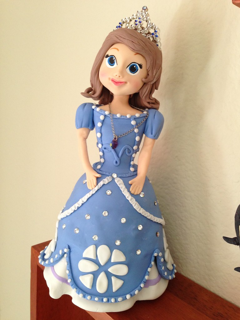 Sofia The First Cake Topper Cup N Cakes Gourmet Flickr