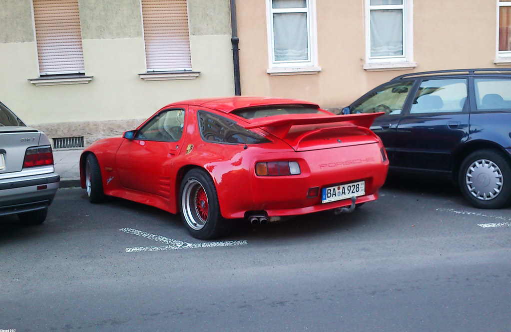 Porsche 928 Strosek Pretty Horrible If You Ask Me