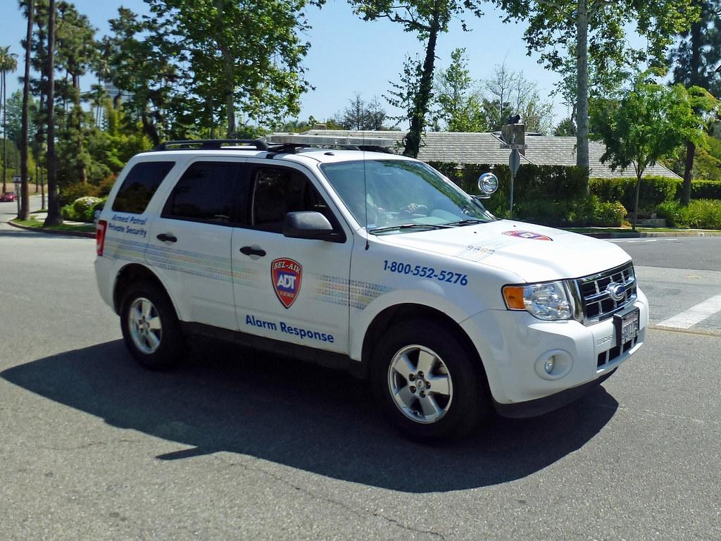 Adt Bel Air Armed Patrol Adt Ford Suv Bel Air Patrol