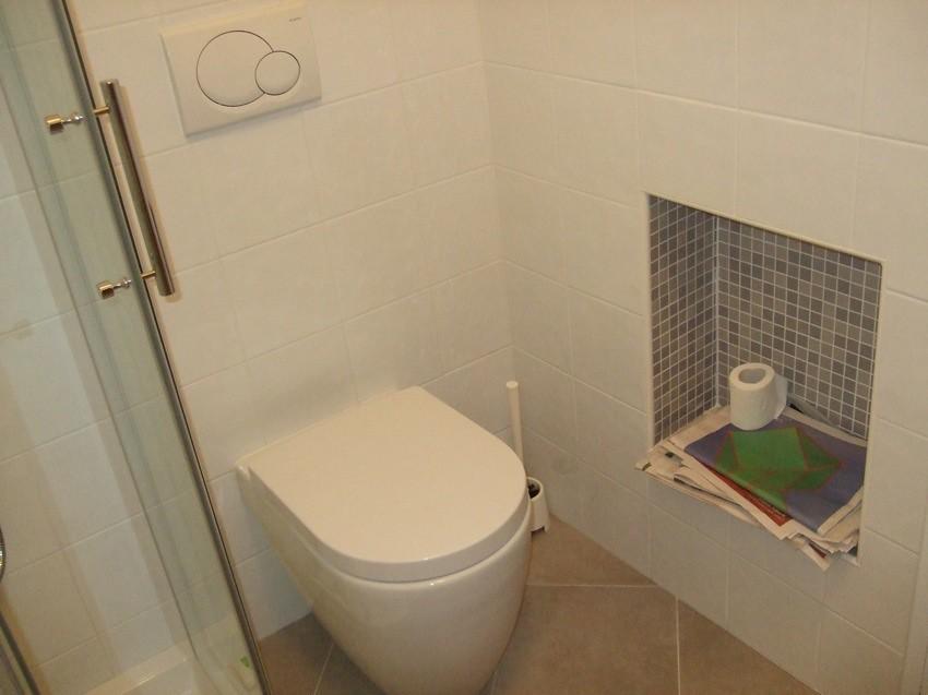 Bagno piccolo box doccia ferbox modello qubo wc olympia - Bagno piccolo con doccia ...