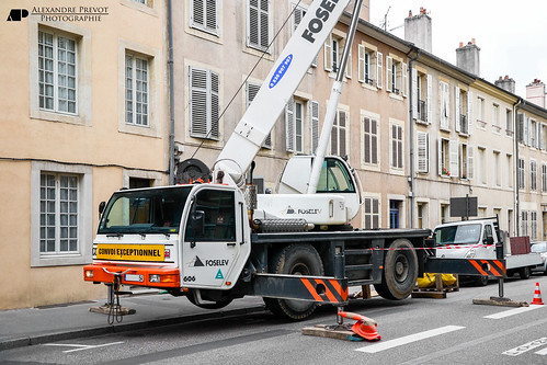 Terex ppm ac 35 levage rue sainte catherine nancy for Rue catherine opalinska nancy