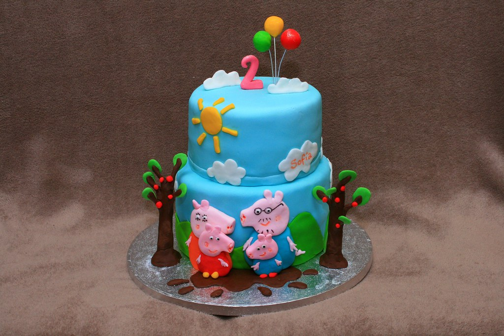 Peppa Pig Cake Decorations