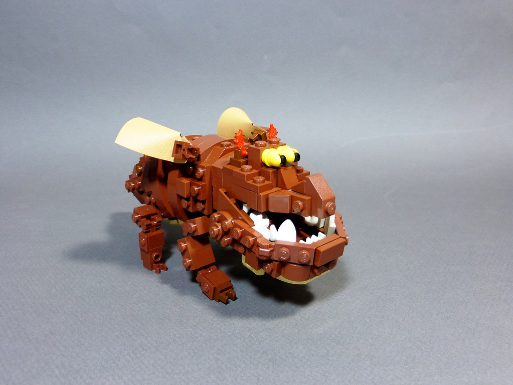 The Gronckle | Another dragon done, featuring Meatlug the ...
