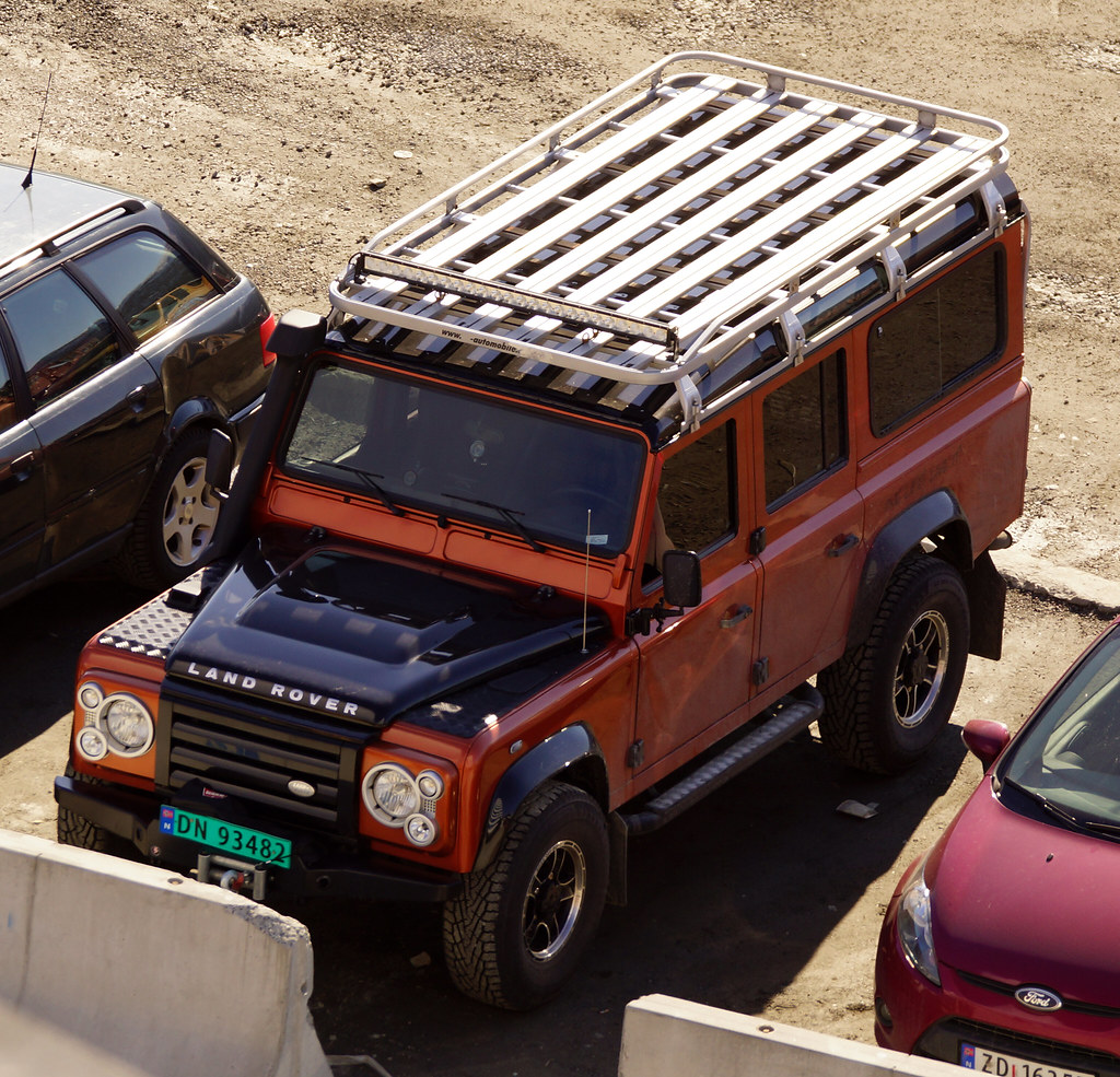 Land Rover Defender 110 Fire Edition From The Limited Run