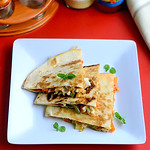 Veg quesadilla recipe