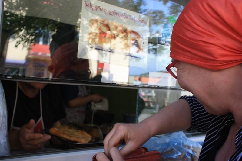 Уличная еда Ахалцихе